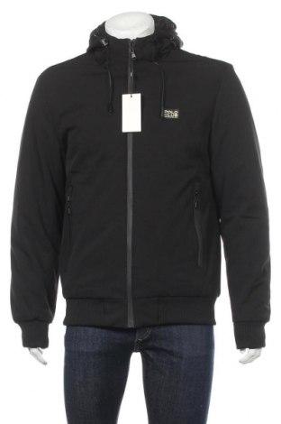 Мъжко яке Polo Club, Размер XL, Цвят Черен, 95% полиестер, 5% еластан, Цена 76,05лв.