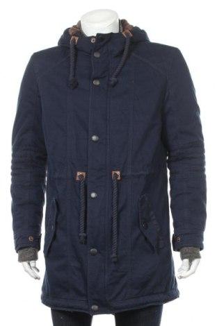 Ανδρικό μπουφάν Review, Μέγεθος M, Χρώμα Μπλέ, Βαμβάκι, Τιμή 38,36€