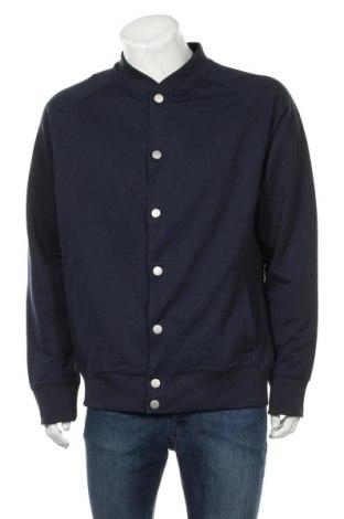 Ανδρικό μπουφάν Timberland, Μέγεθος L, Χρώμα Μπλέ, 80% βαμβάκι, 20% πολυεστέρας, Τιμή 104,00€