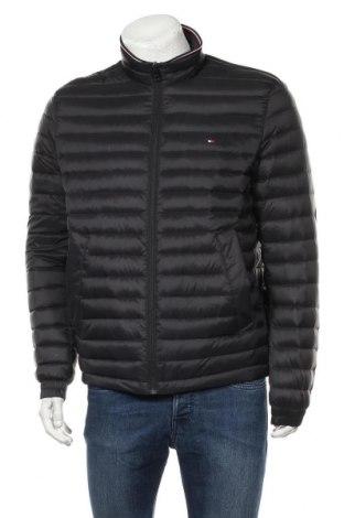 Ανδρικό μπουφάν Tommy Hilfiger, Μέγεθος L, Χρώμα Μαύρο, Πολυαμίδη, φτερά και πούπουλα, Τιμή 133,51€