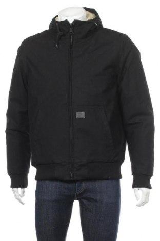 Ανδρικό μπουφάν Vintage Industries, Μέγεθος M, Χρώμα Μαύρο, 65% πολυεστέρας, 35% βαμβάκι, Τιμή 37,15€