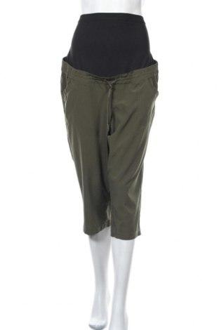 Панталон за бременни Thyme, Размер L, Цвят Зелен, 88% полиестер, 12% еластан, Цена 6,30лв.