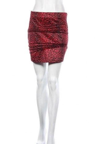 Пола Bardot, Размер M, Цвят Червен, 95% полиестер, 5% еластан, Цена 3,00лв.