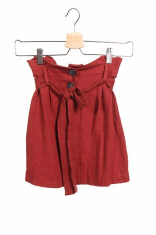 Φούστα Pull&Bear, Μέγεθος XS, Χρώμα Κόκκινο, 100% βαμβάκι, Τιμή 12,37€
