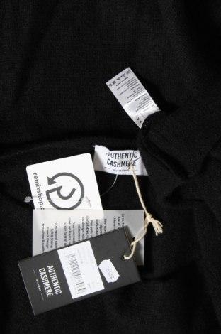 Пончо Authentic Cashmere, Размер M, Цвят Черен, 100% кашмир, Цена 141,75лв.