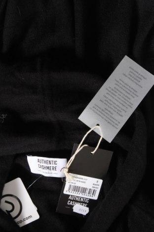 Пончо Authentic Cashmere, Размер M, Цвят Черен, Кашмир, Цена 141,75лв.