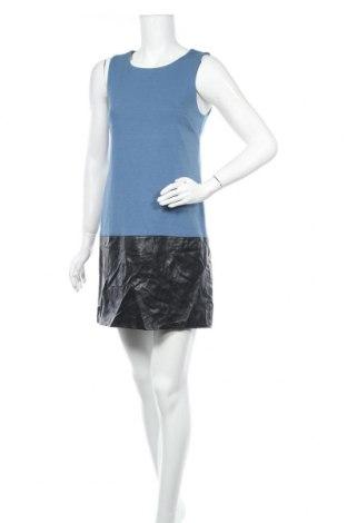 Φόρεμα Banana Republic, Μέγεθος M, Χρώμα Μπλέ, 71% πολυεστέρας, 25% βισκόζη, 4% ελαστάνη, δερματίνη, Τιμή 31,60€