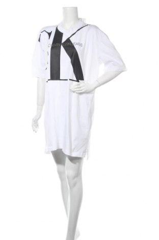 Φόρεμα Calvin Klein Jeans, Μέγεθος M, Χρώμα Λευκό, Βαμβάκι, Τιμή 49,87€
