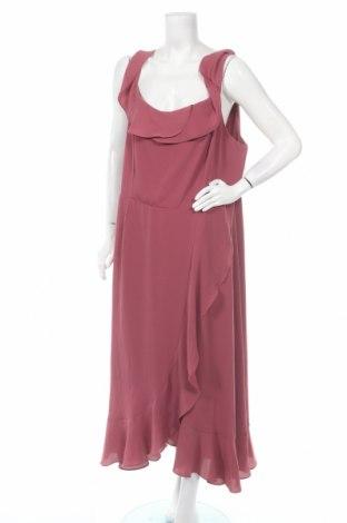 Рокля City Chic, Размер XXL, Цвят Розов, 95% полиестер, 5% еластан, Цена 30,41лв.