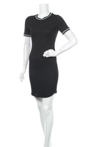 Φόρεμα H&M Divided, Μέγεθος M, Χρώμα Μαύρο, 66% πολυεστέρας, 30% βισκόζη, 4% ελαστάνη, Τιμή 16,05€
