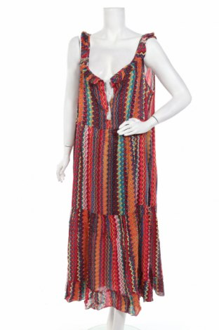 Φόρεμα HHG, Μέγεθος L, Χρώμα Πολύχρωμο, Βισκόζη, Τιμή 30,54€