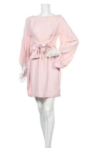 Šaty  JV Selection, Velikost M, Barva Růžová, Len, bavlna, Cena  545,00Kč