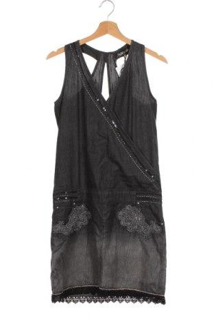 Φόρεμα Koroshi, Μέγεθος XS, Χρώμα Γκρί, Βαμβάκι, Τιμή 30,54€