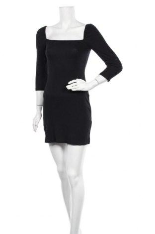Φόρεμα Pull&Bear, Μέγεθος M, Χρώμα Μαύρο, 47% βαμβάκι, 46% μοντάλ, 7% ελαστάνη, Τιμή 22,81€