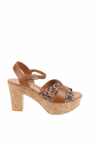 Sandály, Velikost 40, Barva Hnědá, Pravá kůže, Cena  742,00Kč