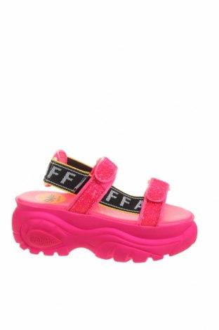 Sandale Buffalo, Mărime 39, Culoare Roz, Textil, Preț 440,52 Lei