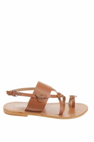 Sandale Calank, Mărime 38, Culoare Maro, Piele naturală, Preț 70,05 Lei