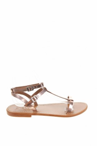 Sandály Calank, Velikost 38, Barva Růžová, Pravá kůže, Cena  565,00Kč