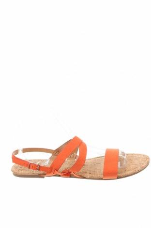 Sandale Dorothy Perkins, Mărime 41, Culoare Portocaliu, Textil, Preț 40,30 Lei