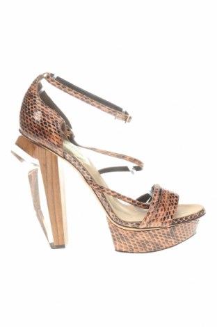 Sandale Dsquared2, Mărime 38, Culoare Maro, Piele naturală, Preț 1.022,37 Lei
