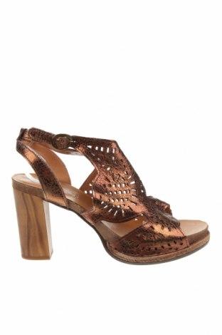 Sandale Felmini, Mărime 41, Culoare Maro, Piele naturală, Preț 483,56 Lei