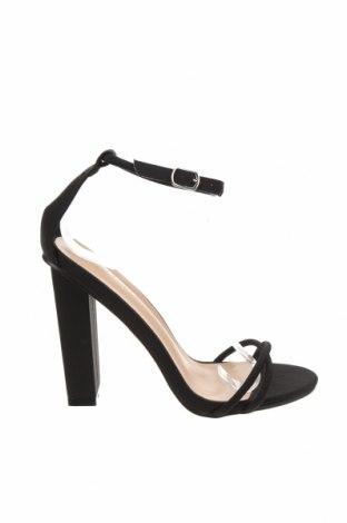 Sandály Glamorous, Velikost 41, Barva Černá, Textile , Cena  633,00Kč