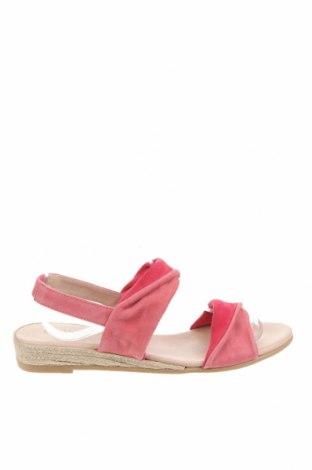 Sandály Kiomi, Velikost 39, Barva Růžová, Přírodní velur , Cena  555,00Kč
