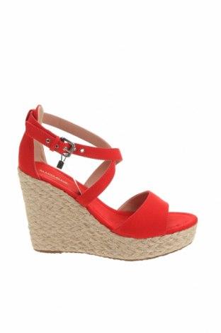Sandály Maria Mare, Velikost 41, Barva Červená, Textile , Cena  864,00Kč