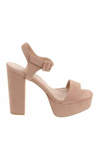 Sandale New Look, Mărime 41, Culoare Mov deschis, Textil, Preț 172,73 Lei