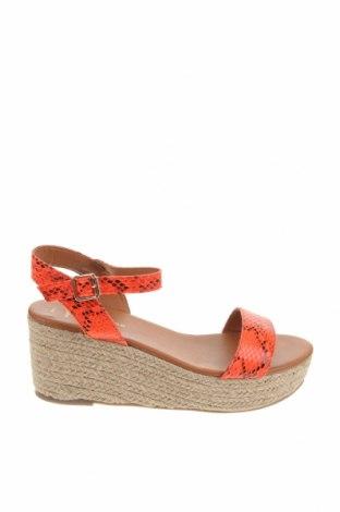 Sandale New Look, Mărime 41, Culoare Roșu, Piele ecologică, Preț 159,08 Lei
