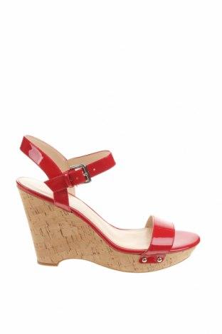 Sandale Nine West, Mărime 41, Culoare Roșu, Piele ecologică, Preț 132,91 Lei