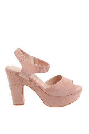 Сандали Shoe The Bear, Размер 40, Цвят Розов, Естествен велур, Цена 48,90лв.