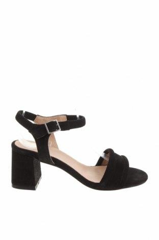 Sandály Shoe The Bear, Velikost 36, Barva Černá, Přírodní velur , Cena  1801,00Kč