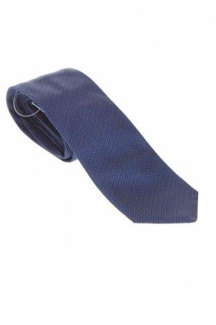 Вратовръзка Hackett, Цвят Син, Коприна, Цена 74,25лв.
