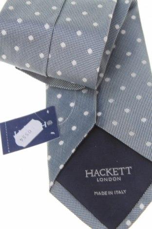 Вратовръзка Hackett, Цвят Сив, Коприна, Цена 74,25лв.