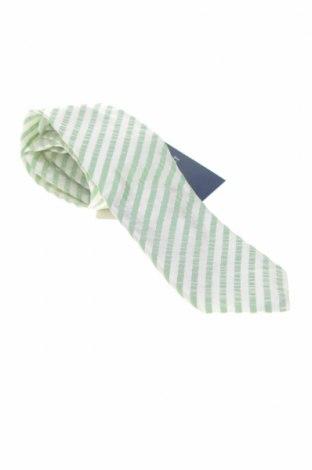 Вратовръзка Hackett, Цвят Бял, Коприна, Цена 34,65лв.