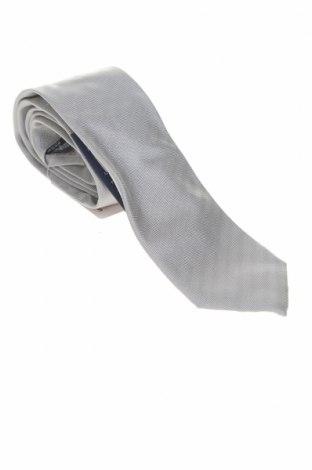 Cravată Hackett, Culoare Gri, Mătase, Preț 74,90 Lei