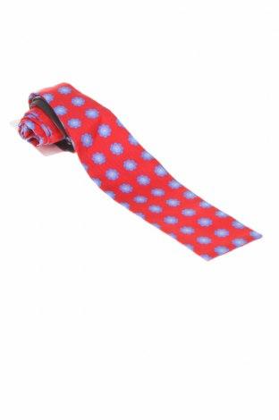 Вратовръзка Hackett, Цвят Червен, Коприна, Цена 18,40лв.