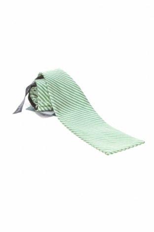Cravată Hackett, Culoare Alb, Mătase, Preț 78,29 Lei
