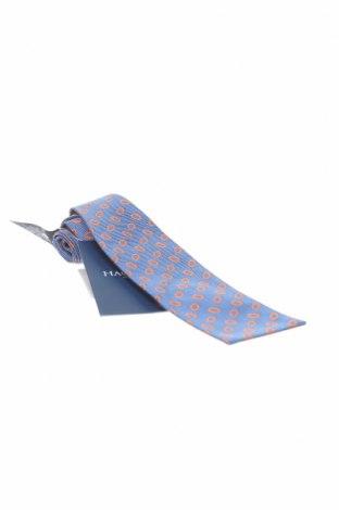 Вратовръзка Hackett, Цвят Син, Коприна, Цена 19,80лв.