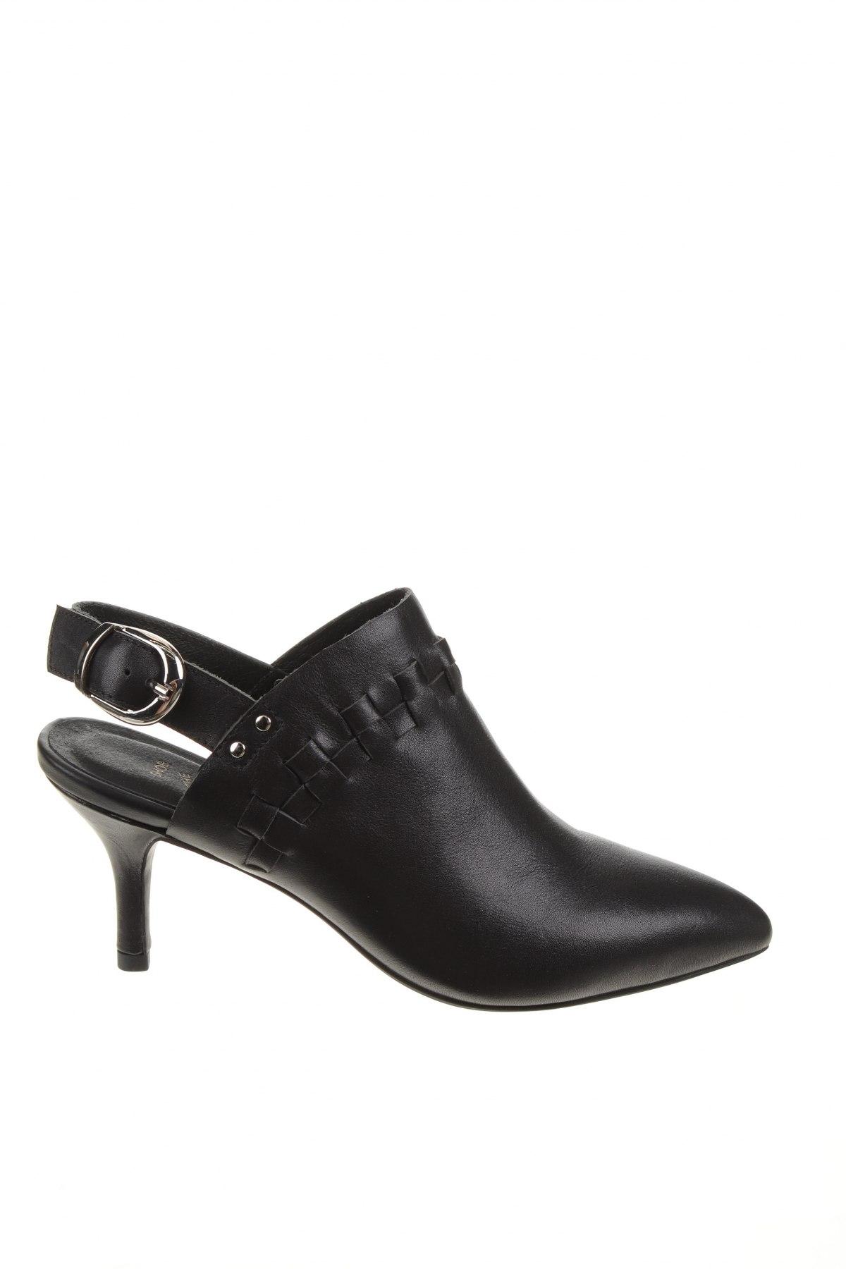 Дамски обувки Shoe The Bear, Размер 36, Цвят Черен, Естествена кожа, Цена 216,75лв.