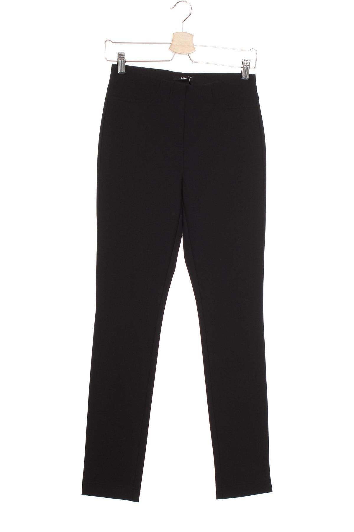Дамски панталон Zero, Размер XS, Цвят Черен, 85% полиамид, 15% еластан, Цена 10,69лв.