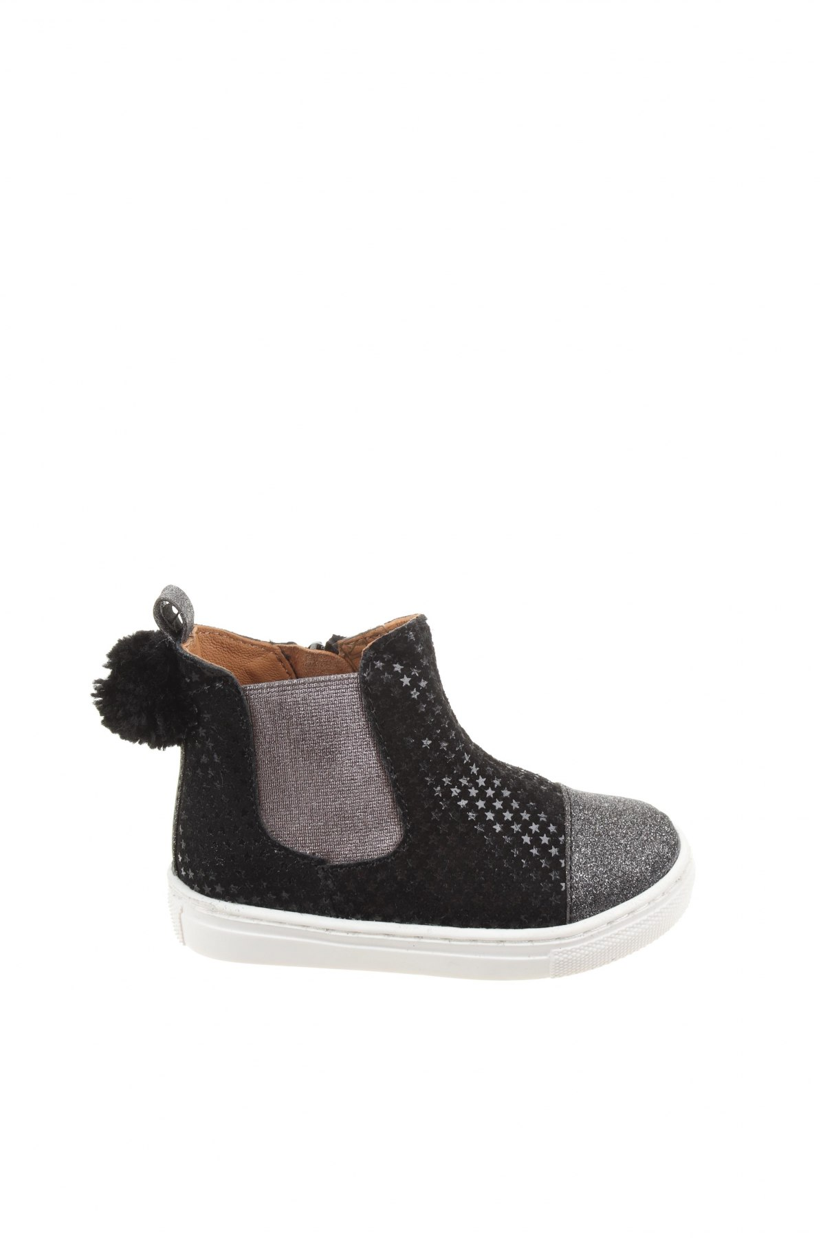 Детски обувки Oca-Loca, Размер 24, Цвят Черен, Естествен велур, Цена 129,00лв.