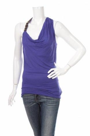 Γυναικείο αμάνικο μπλουζάκι Jessica Simpson, Μέγεθος M, Χρώμα Μπλέ, 100% βισκόζη, Τιμή 4,33€