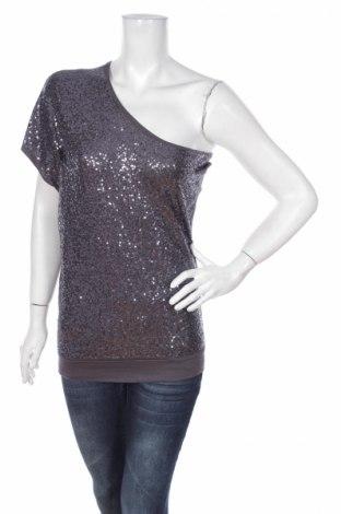 Γυναικεία μπλούζα Ann Christine, Μέγεθος XS, Χρώμα Γκρί, Βισκόζη, Τιμή 2,78€