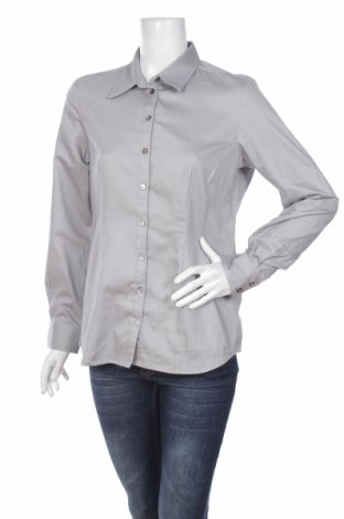 Γυναικείο πουκάμισο, Μέγεθος XL, Χρώμα Γκρί, Τιμή 16,70€