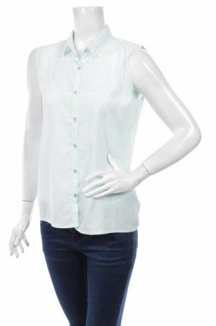 Дамска риза, Размер M, Цвят Син, Цена 6,00лв.
