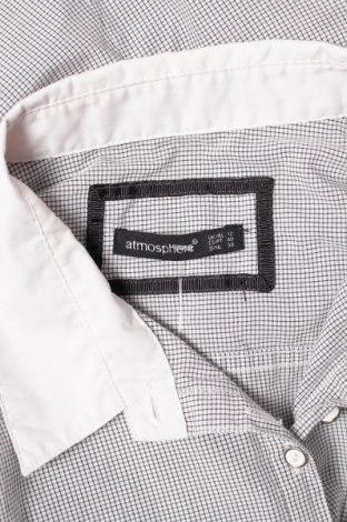 Γυναικείο πουκάμισο Atmosphere, Μέγεθος M, Χρώμα Μπλέ, 53% πολυεστέρας, 47% βαμβάκι, Τιμή 17,53€