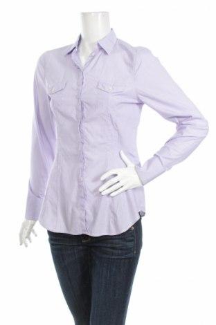 Γυναικείο πουκάμισο Bagutta, Μέγεθος L, Χρώμα Βιολετί, Βαμβάκι, Τιμή 22,27€