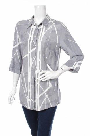 Γυναικείο πουκάμισο Blancheporte, Μέγεθος L, Χρώμα Γκρί, Βισκόζη, Τιμή 17,53€